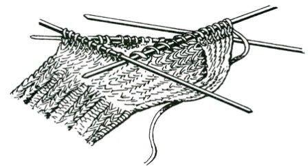 Набор новых петель из кромочных