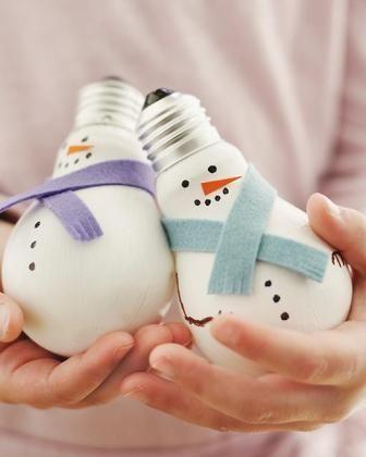 Снеговик своими руками из соленого теста