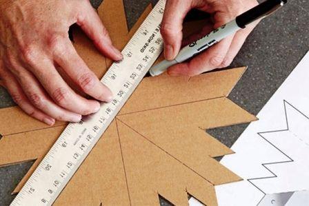 Как сделать подставку под горячее из картона