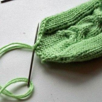 Вязание спицами варежки с фото